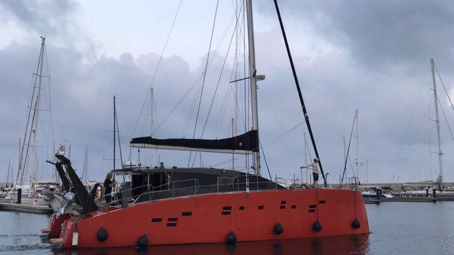 Ibiza catamarán